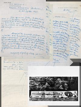 Documents originaux de  : Lettres et photographies