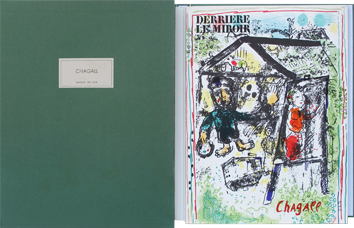 Issue DLM lithographs de Chagall Marc : DLM n° 182 - Deluxe Edition