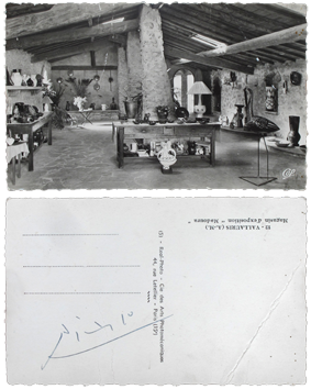Documenti originali de Picasso Pablo : Showroom Madoura