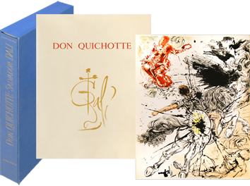 Livre avec lithographies de  : Pages choisies de Don Quichotte