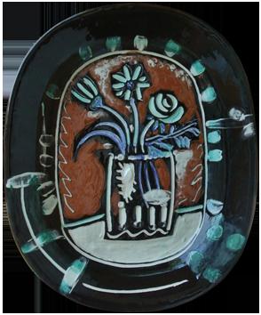 Madoura ceramic de  : Bunch