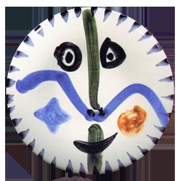 Céramique madoura de  : Visage n°111