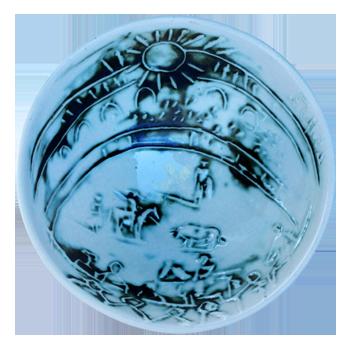 Original print ceramic de  : Tauromachy Scene