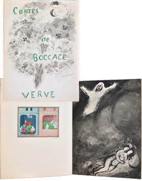 Illustrated issue de Chagall Marc : Contes de Boccace