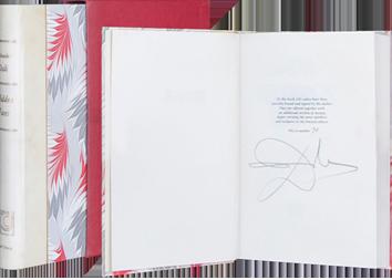 Livre signé de  : Hidden Faces (Visages cachés)