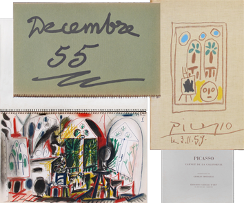 Illustrated book de Picasso Pablo : Carnet de la Californie