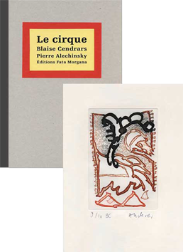 Book with etching de  : Le Cirque