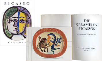 Illustrated book de Picasso Pablo : Die Keramiken Picassos