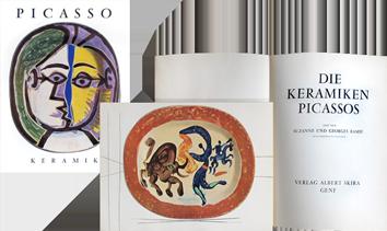 Livre avec reproductions de  : Die Keramiken Picassos