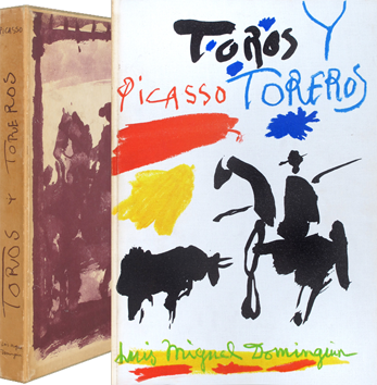Illustrated book de Picasso Pablo : Toros y Toreros