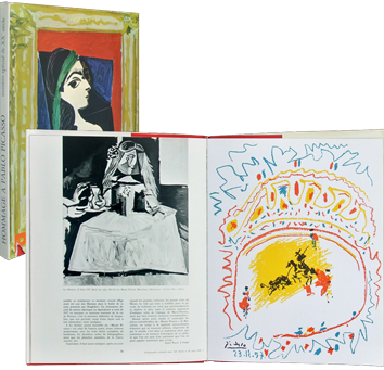 Illustrated art issue de Picasso Pablo : Tribute to Pablo Picasso