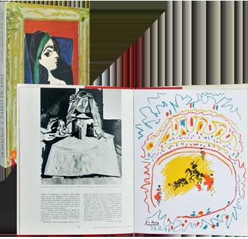 Revue d'art illustré de  : Hommage à Pablo Picasso