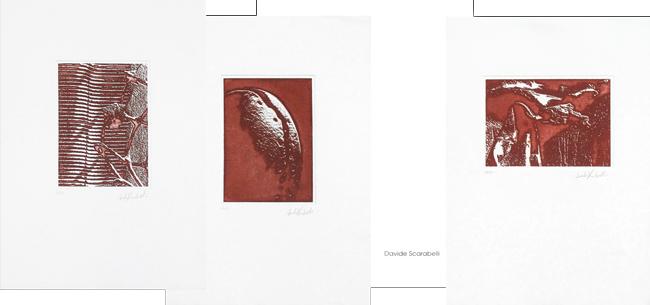 Original signed etchings de  : Suite II
