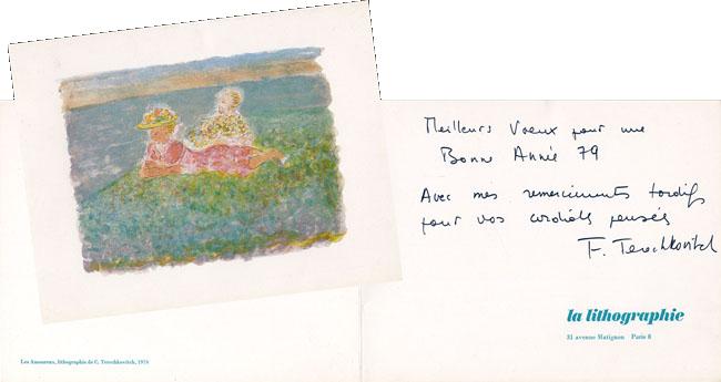 Handwritten document de  : Wishes 79
